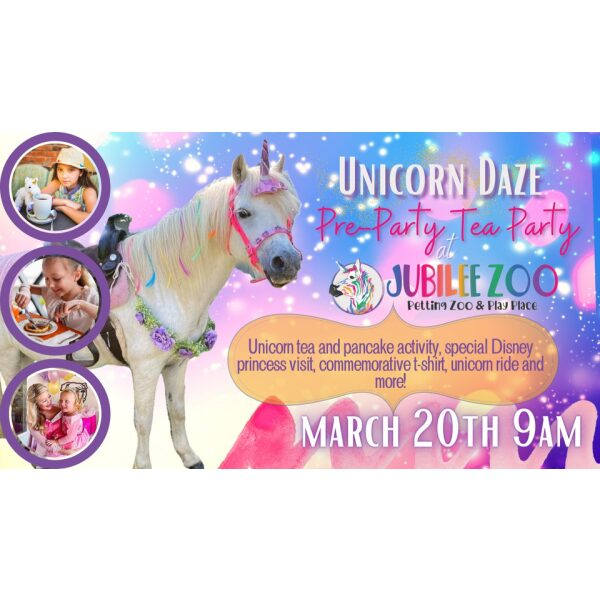 Unicorn Daze Pre-Party Tea Party